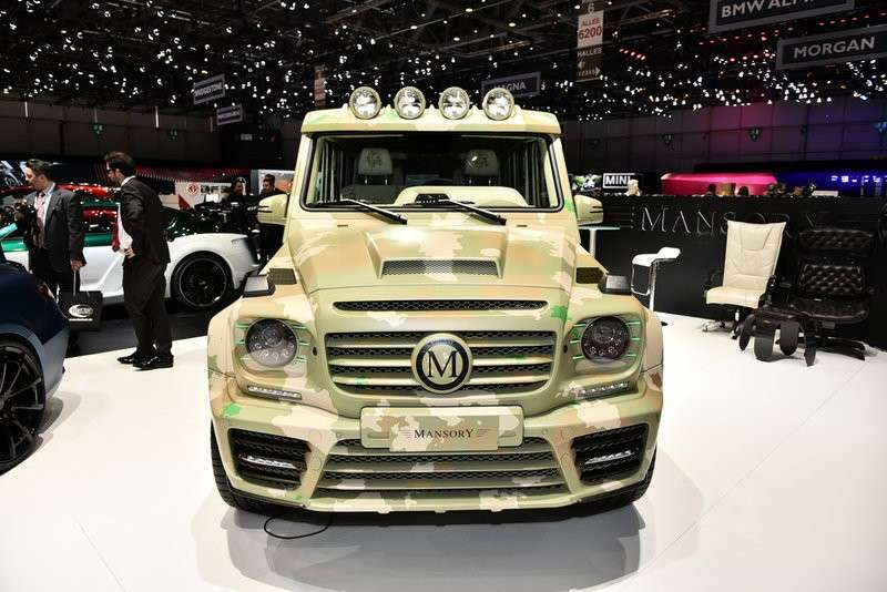 Mansory Mercedes G frontale