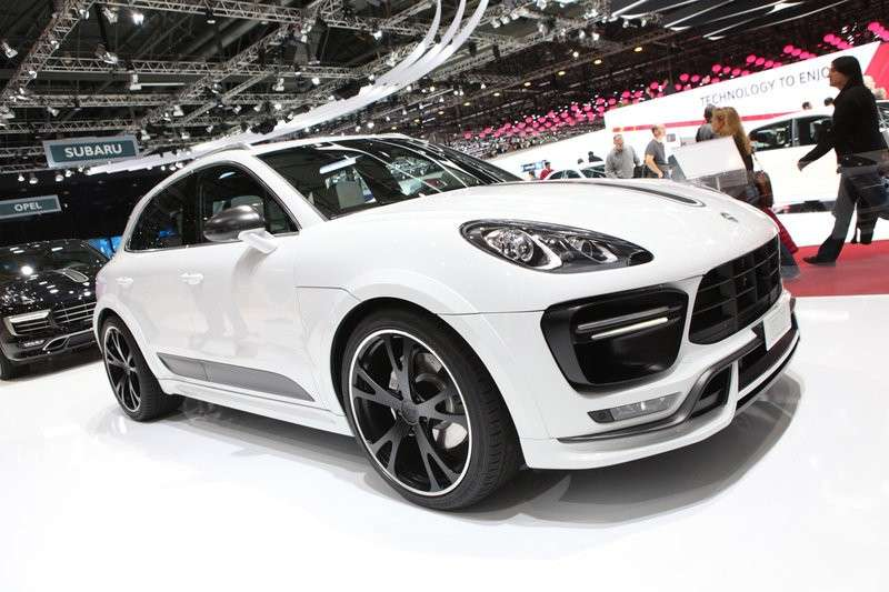 Porsche Macan by TechArt