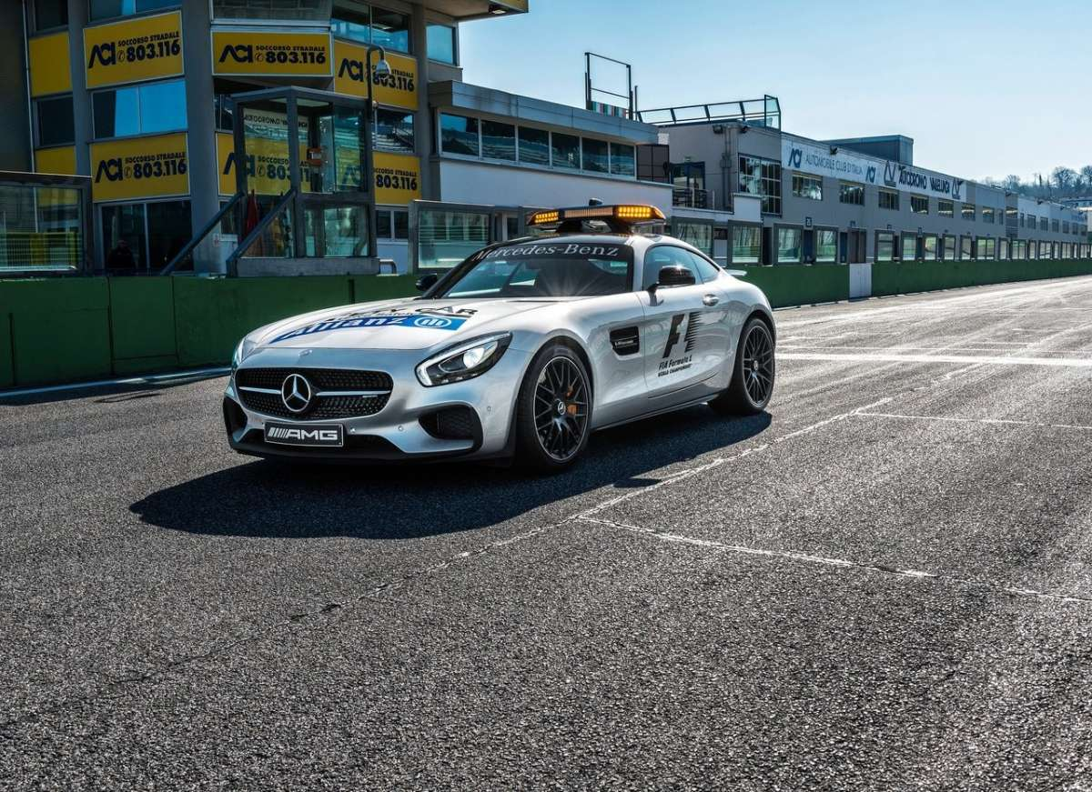 Mercedes AMG GT S F1 la nuova Safety Car