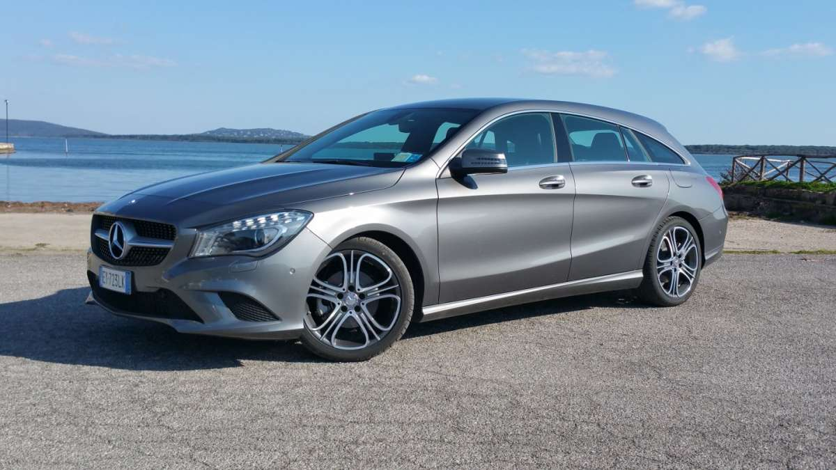 Mercedes CLA Shooting Brake, prova su strada