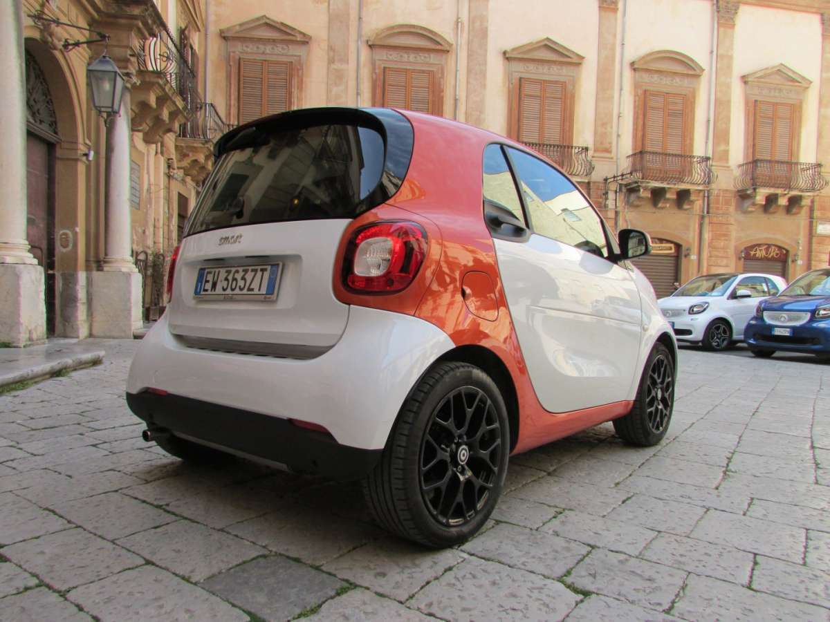 Smart ForTwo Twinamic laterale posteriore