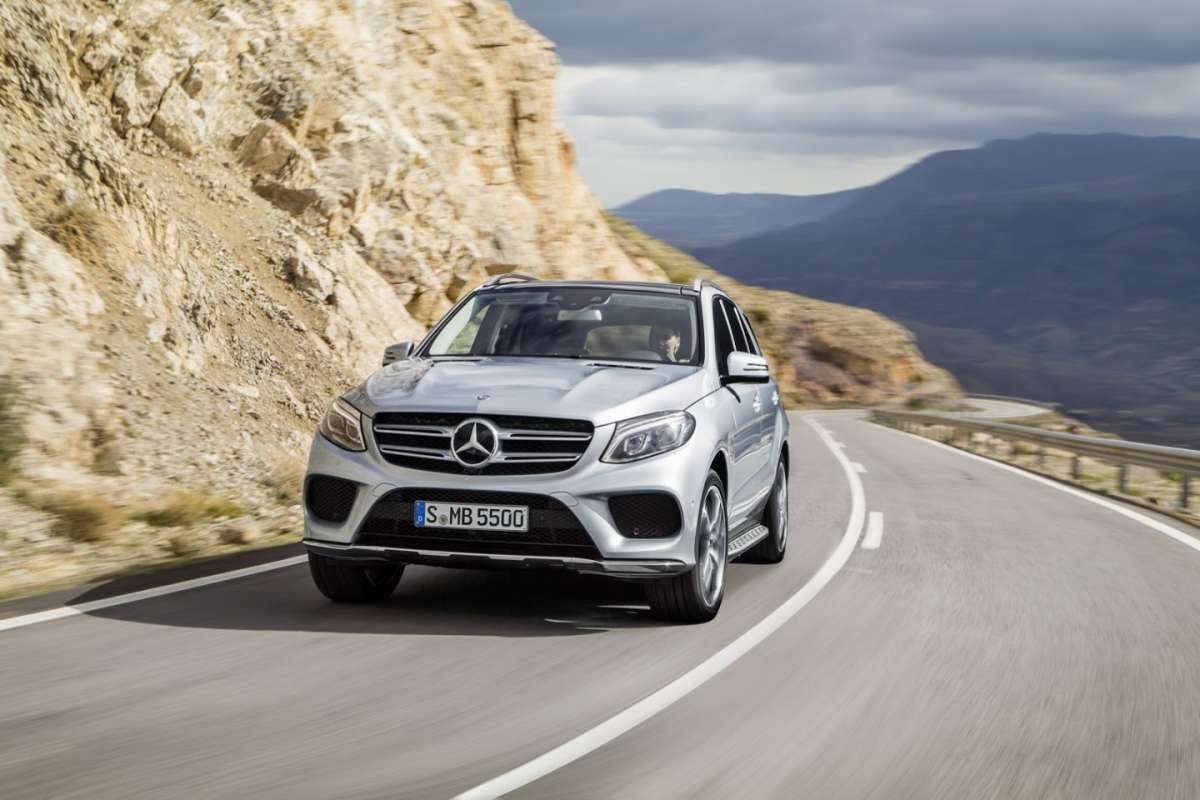 Mercedes ML restyling 2015