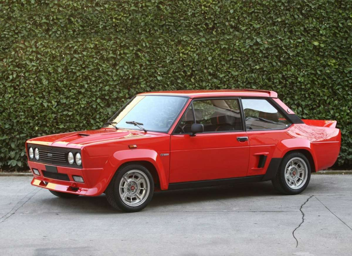 Fiat Abarth 131 Rally 1976 Bertone