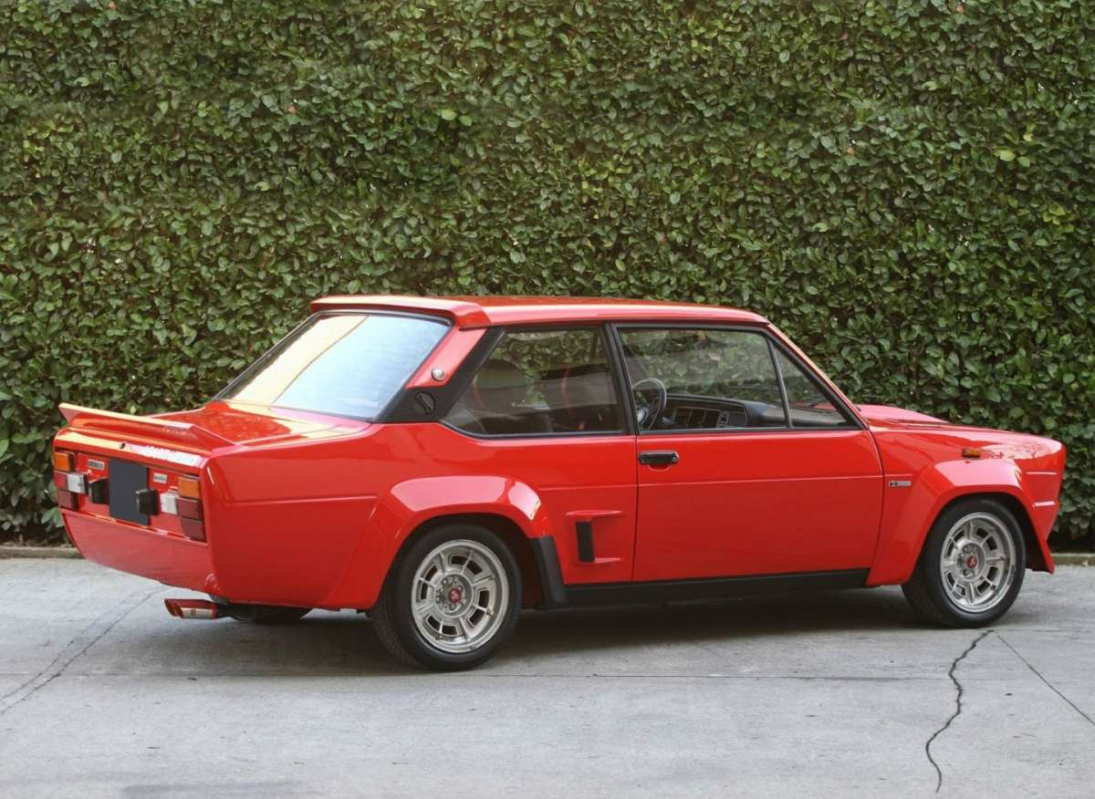 Fiat Abarth 131 Rally 1976 posteriore
