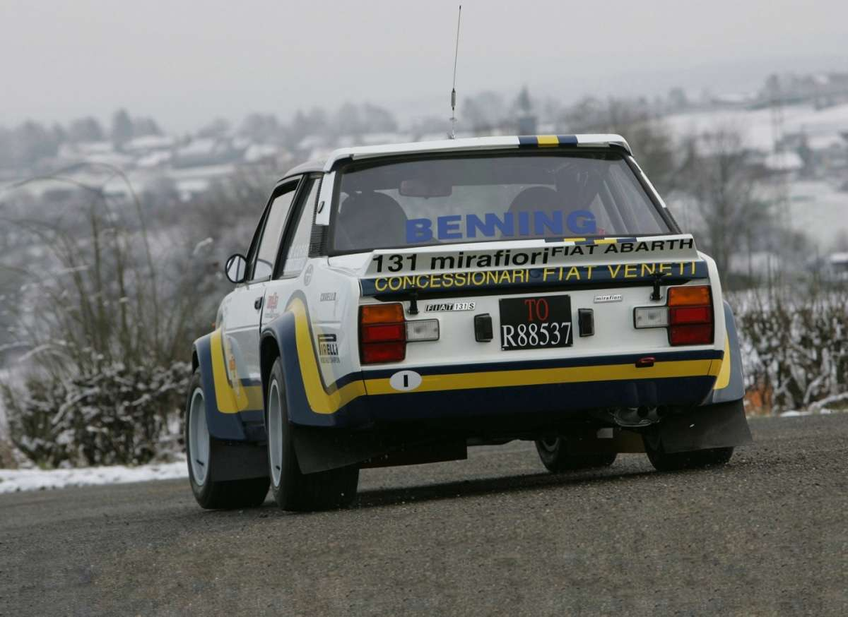 Fiat Abarth 131S Rally Corsa 1976