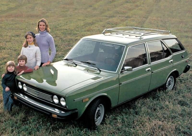 Fiat 131 Station Wagon USA 1975