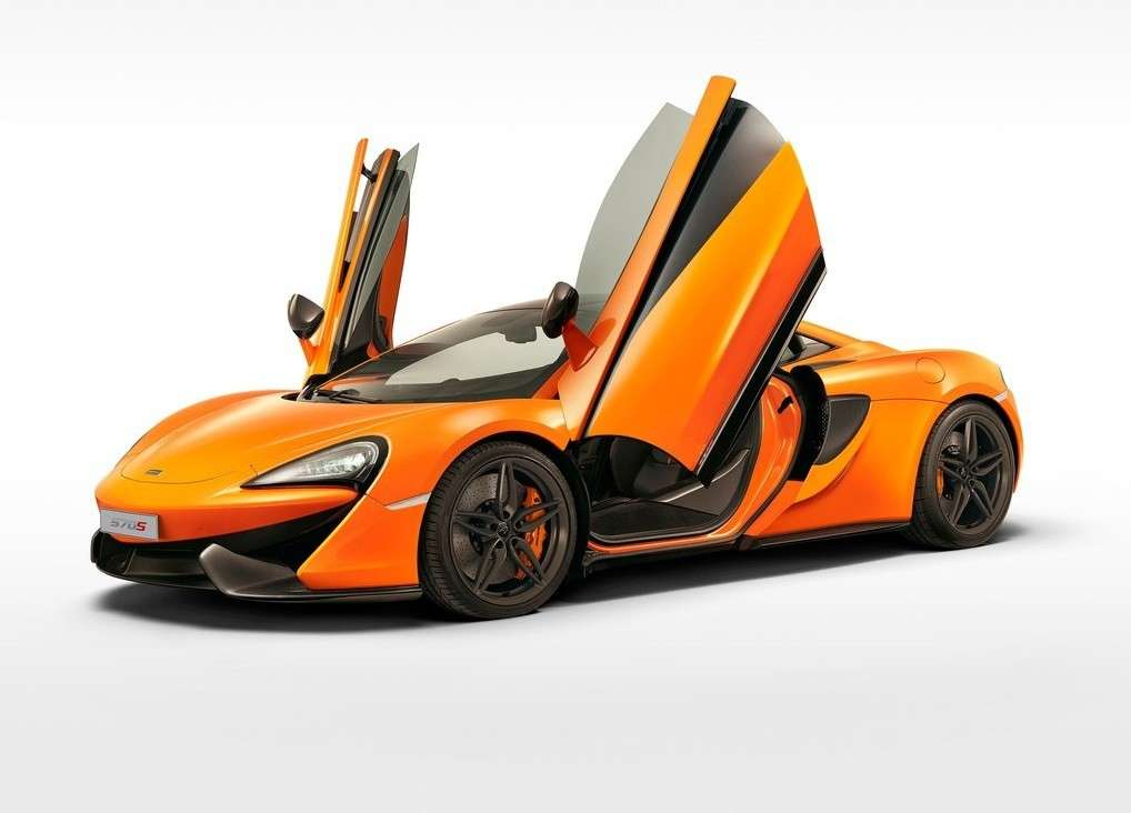 McLaren 570S coupe, portiere a elitra