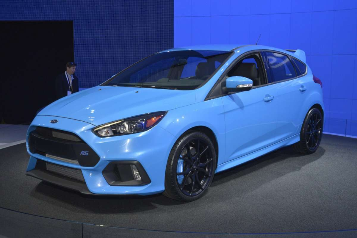 Ford Focus RS, Salone New York 2015 (1)