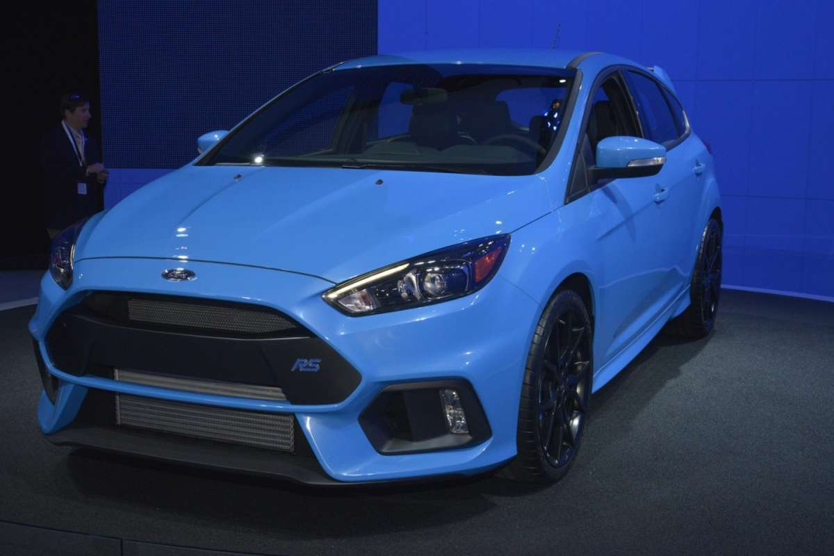 Ford Focus RS, Salone New York 2015 (2)