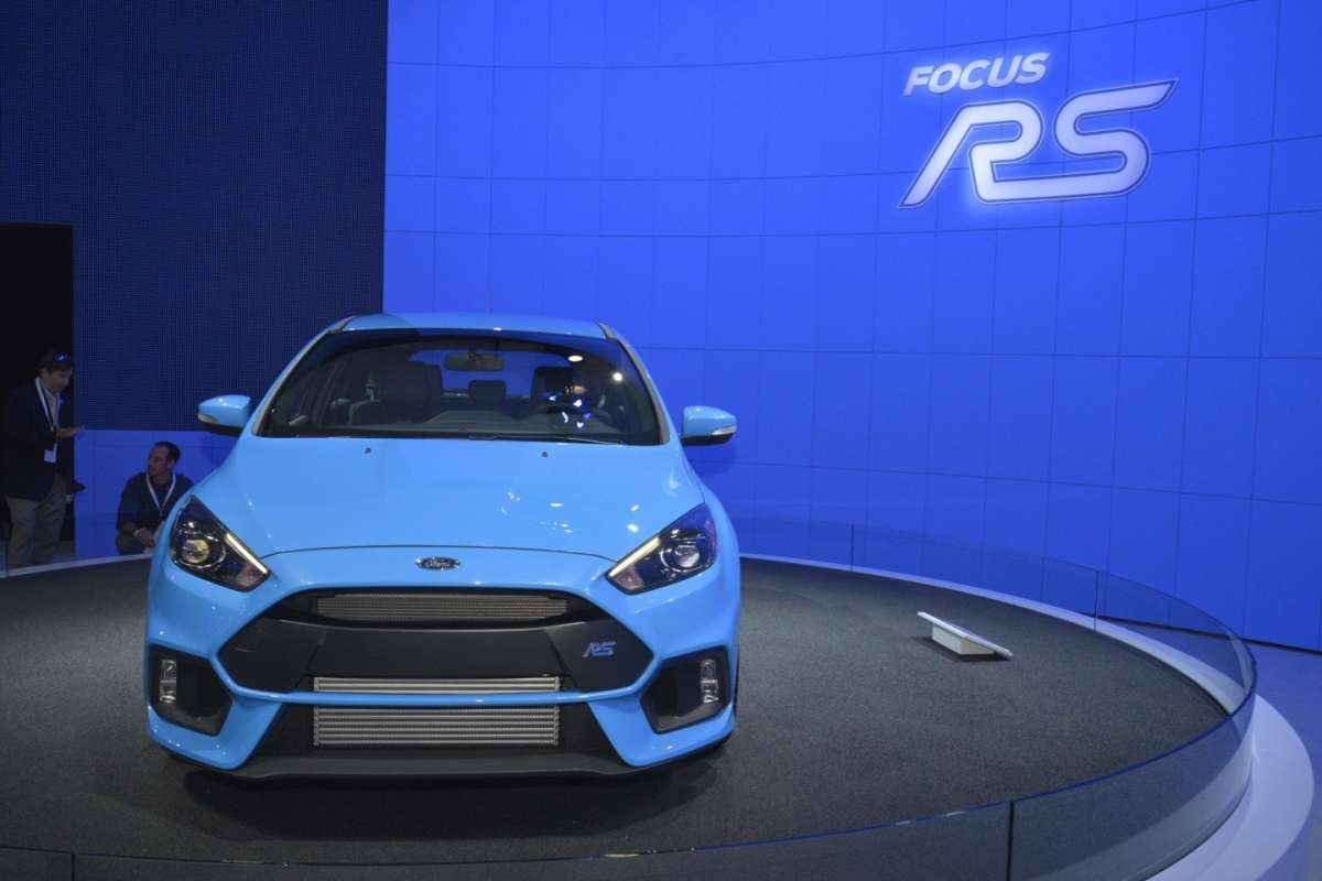 Ford Focus RS, Salone New York 2015 (3)