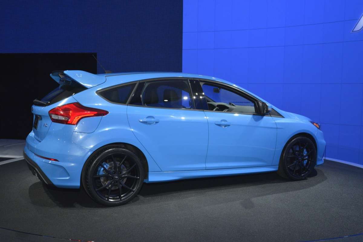 Ford Focus RS, Salone New York 2015 (4)