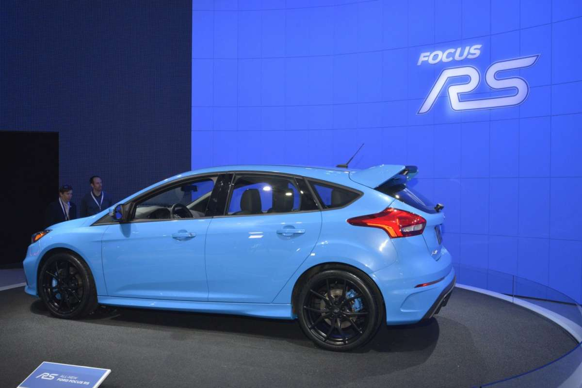 Ford Focus RS, Salone New York 2015 (5)