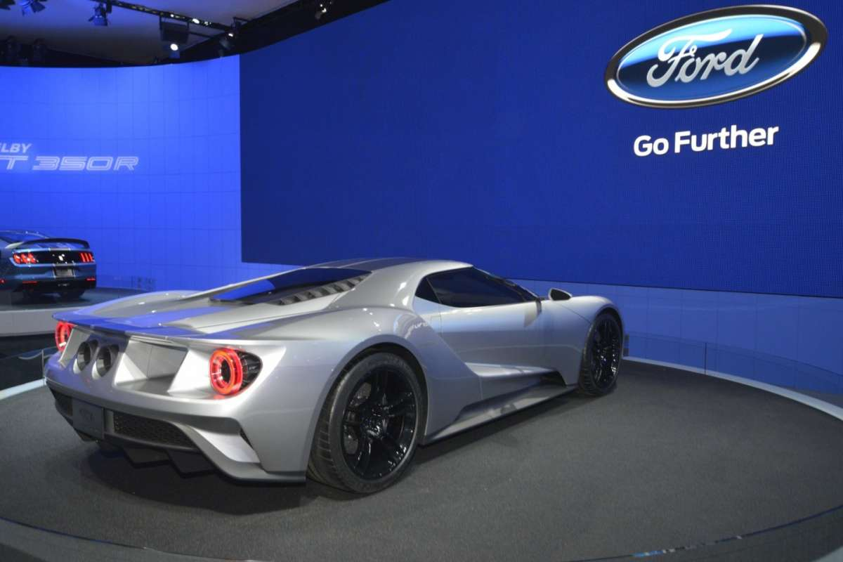 Ford GT, Salone New York 2015 (2)