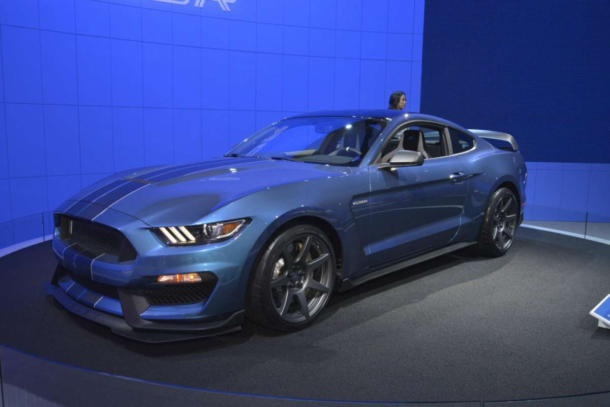 Ford Shelby Mustang GT350, Salone New York 2015 (1)