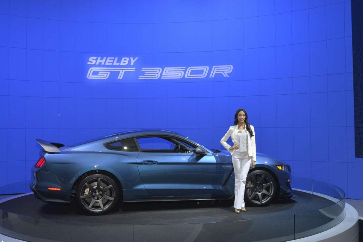 Ford Shelby Mustang GT350, Salone New York 2015 (2)