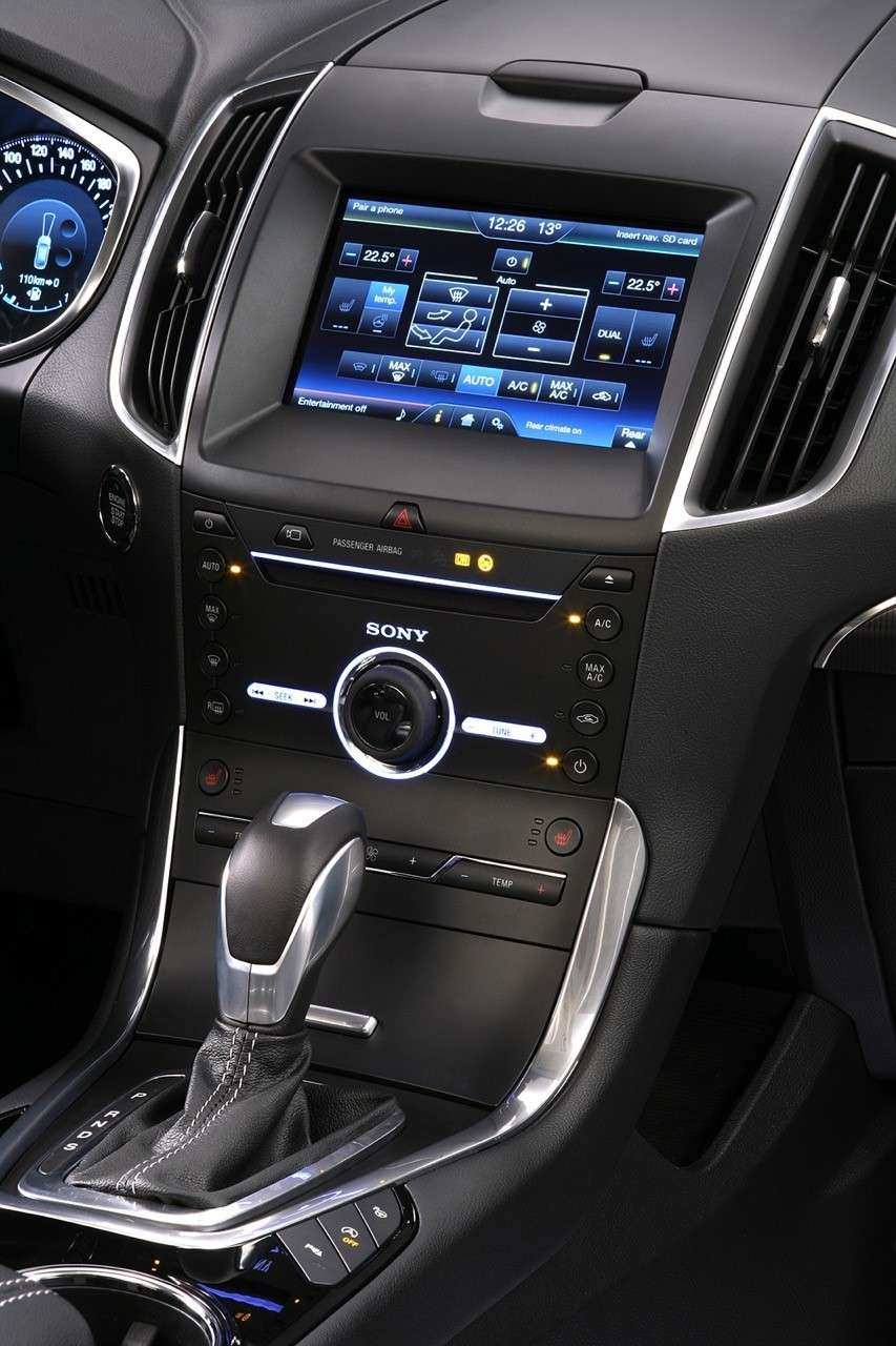 Infotainment della Ford Galaxy 2015 restyling