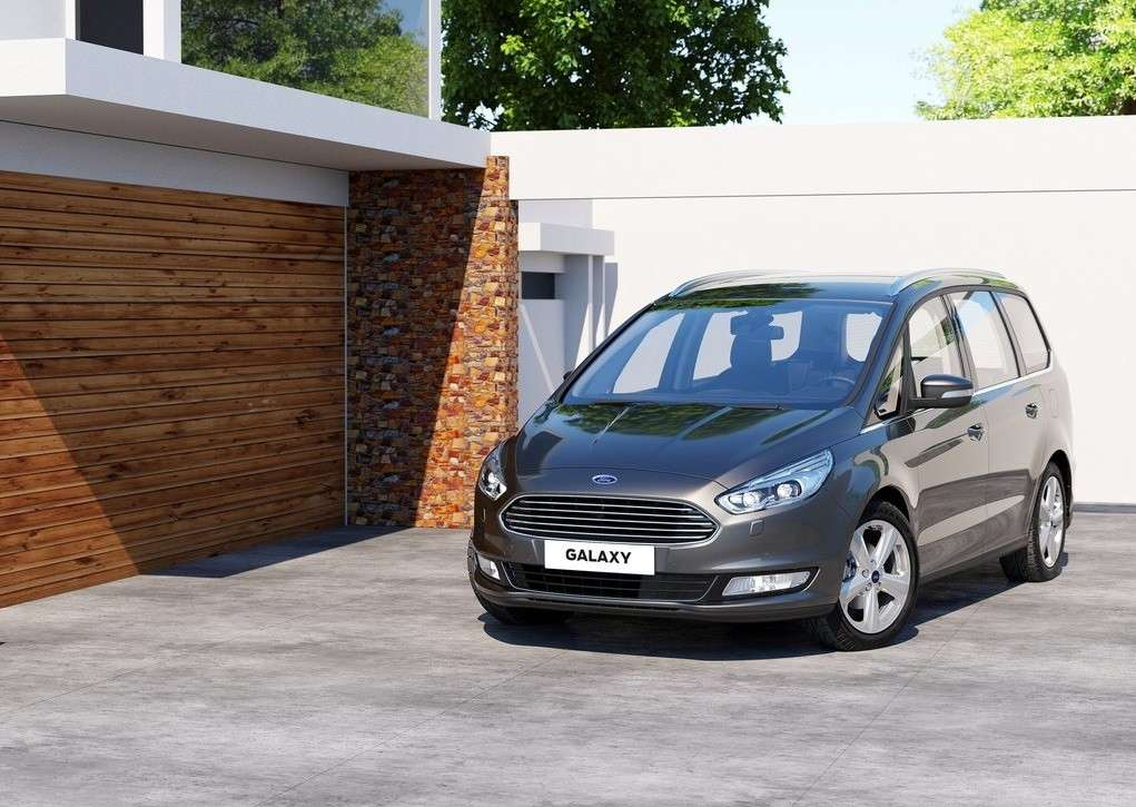 Ford Galaxy 2015 restyling