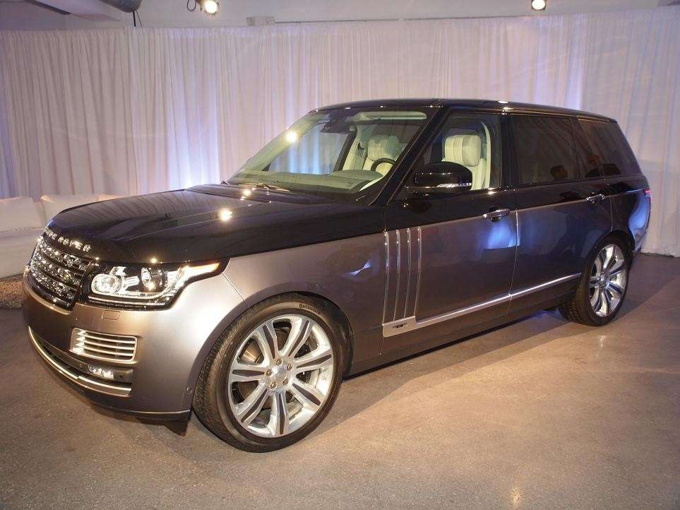 Range Rover SV Autobiography, salone New York 2015