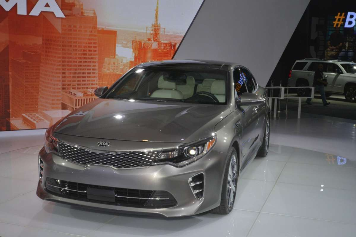 Nuova Kia Optima al Salone di New York 2015