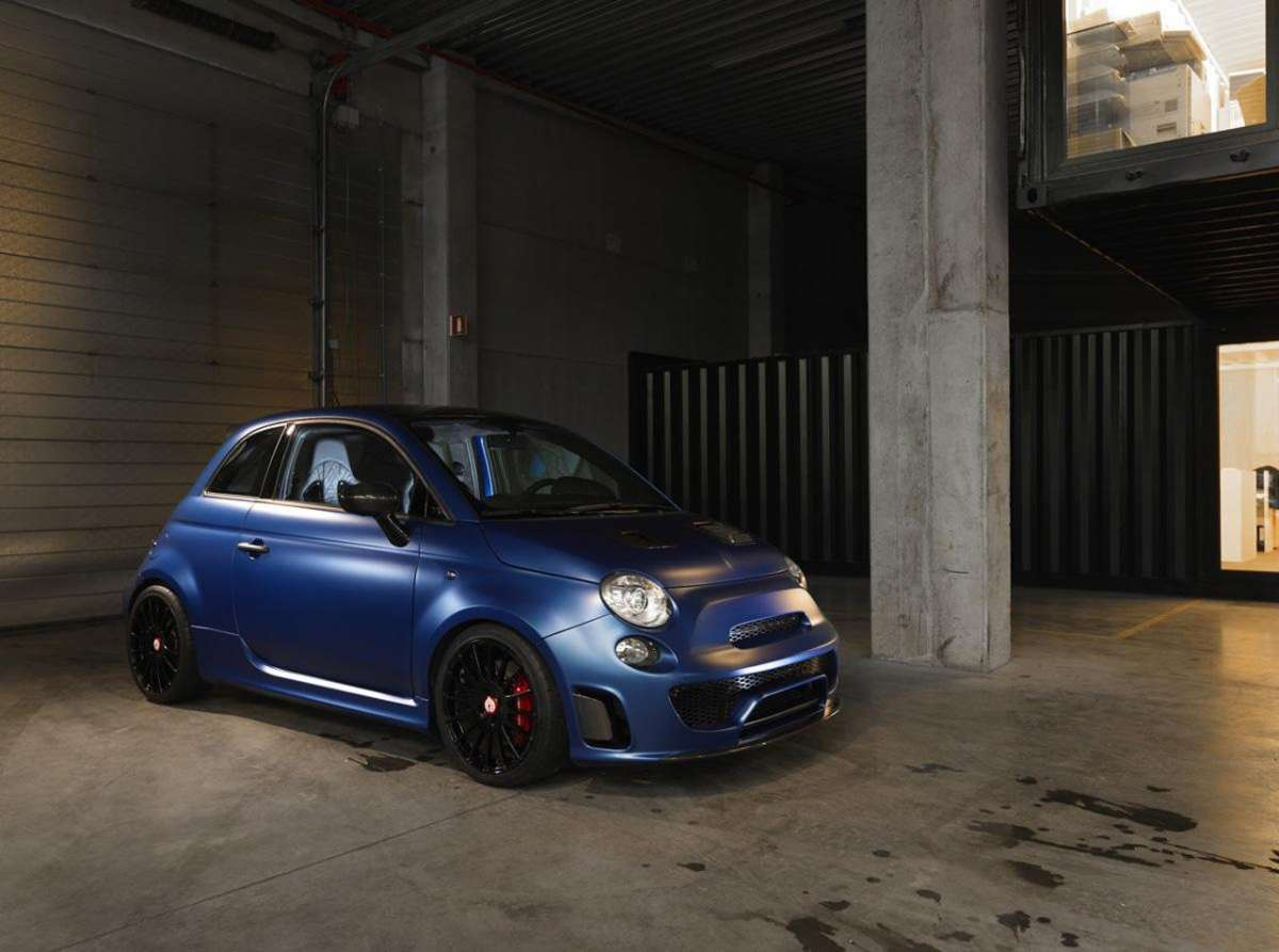 Abarth 500 Pogea Racing tuning