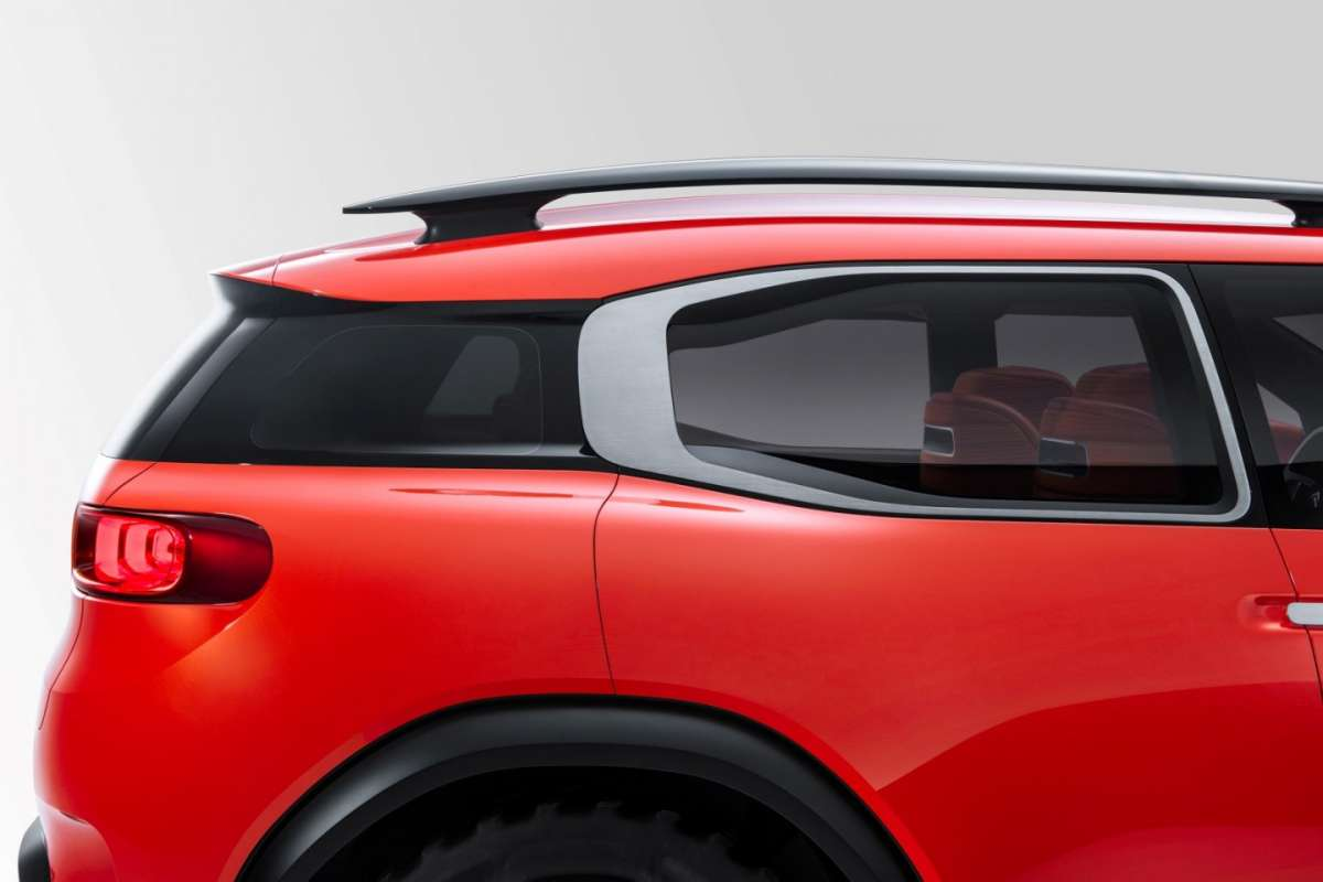 Air Signs di Citroen Aircross concept