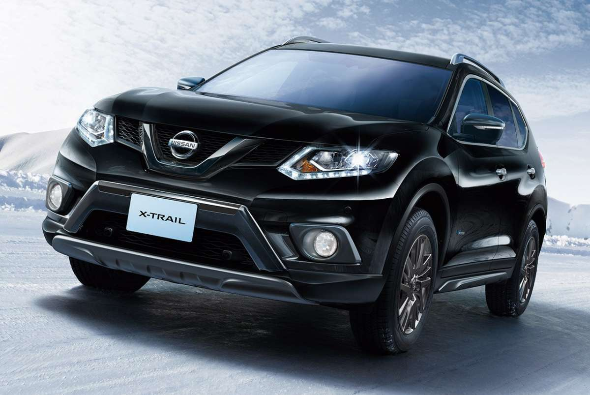 nissan x trail hybrid 2015 foto allaguida. Black Bedroom Furniture Sets. Home Design Ideas