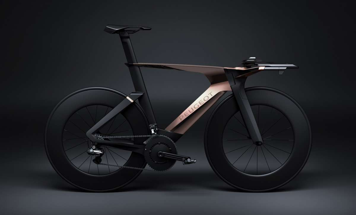 Onyx Concept Bike, vista laterale