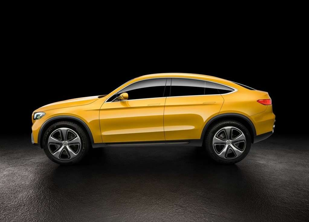 Dimensioni di Mercedes GLC coupe concept