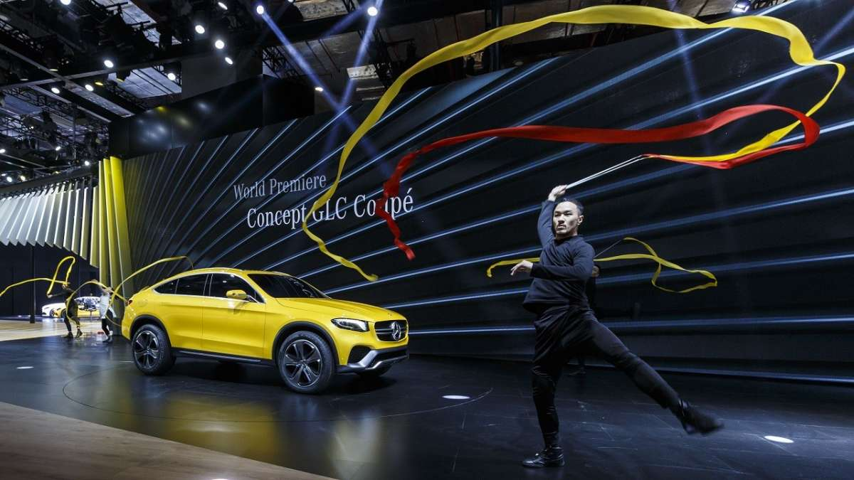 Mercedes GLC Coupé prototipo
