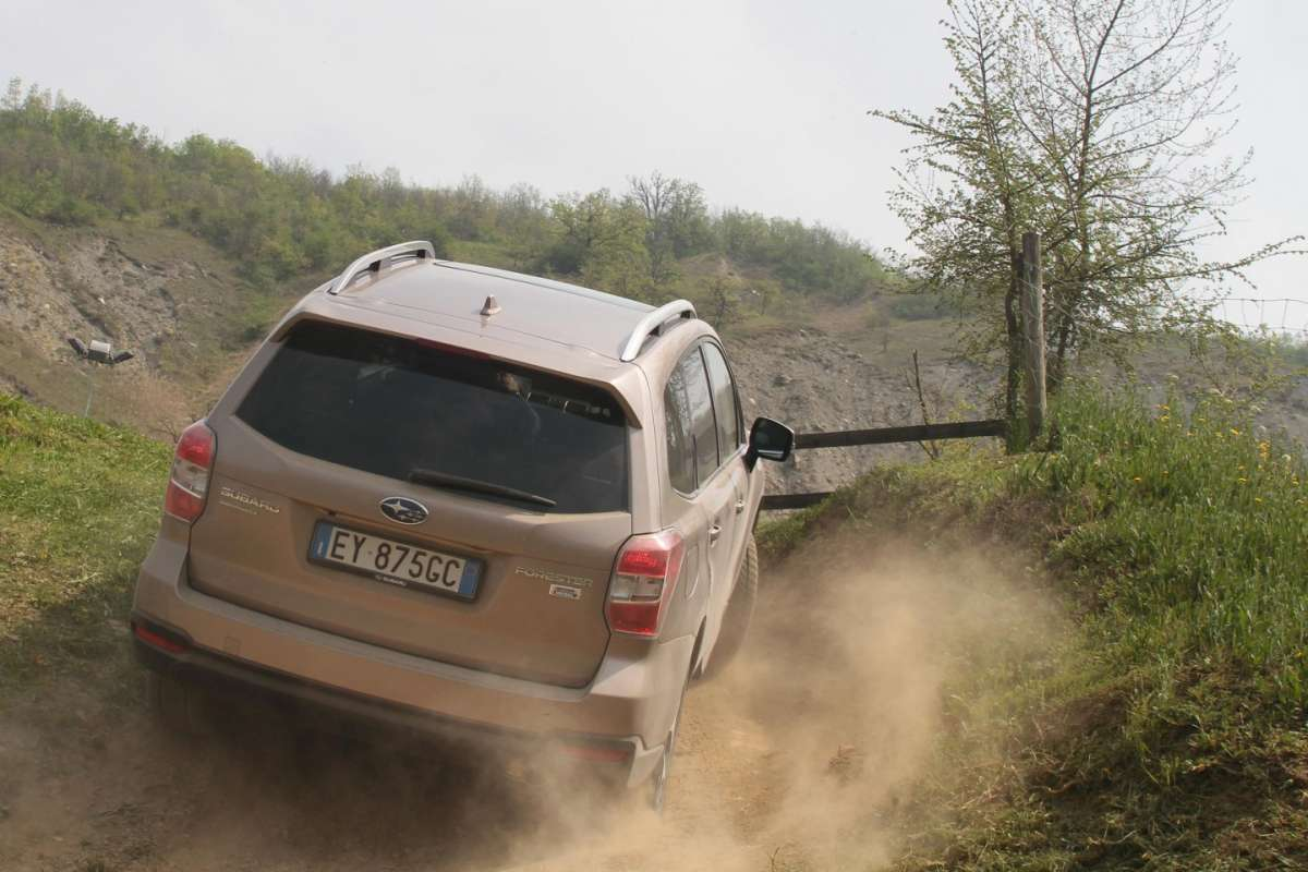 Subaru Forester 2015 Lineartronic