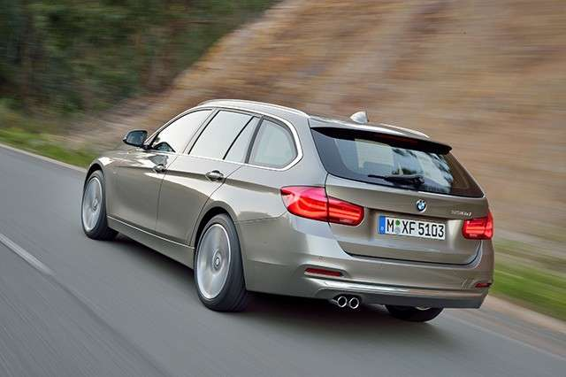 Bmw Serie 3 restyling 2015 Touring