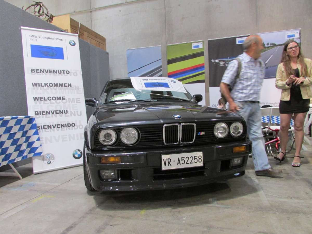 Frontale del Bmw M3