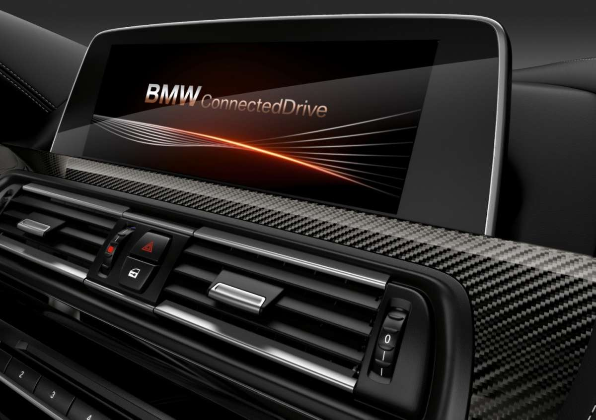 Infotainment di Bmw M6 Competition Package
