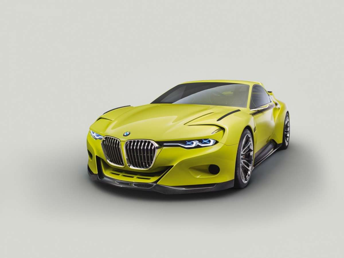 Bmw CSL Hommage con Air Curtains