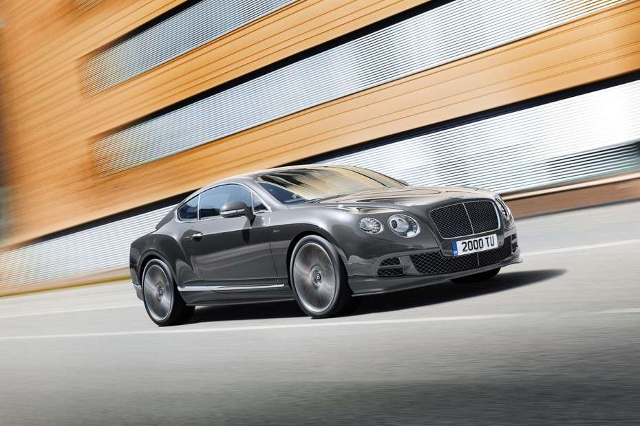 Bentley Continental GT coupé