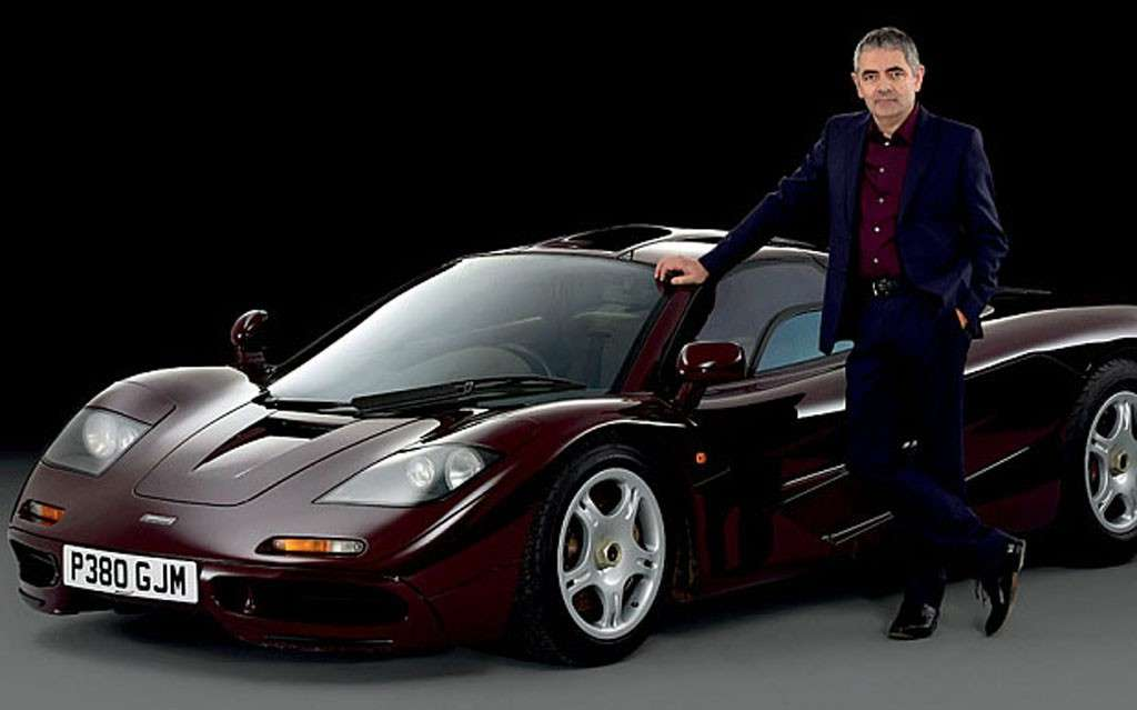 Mr. Bean vende la sua McLaren F1