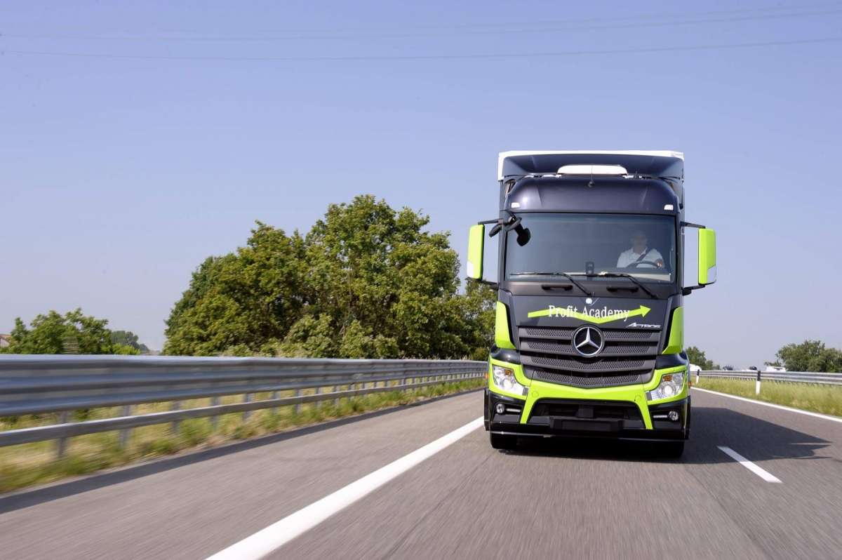 Mercedes Benz Actros elettronica di bordo