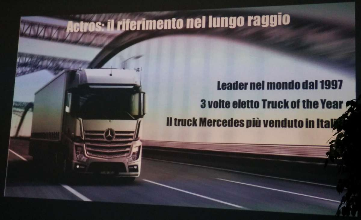 Mercedes Benz Actros Truck Of The Year