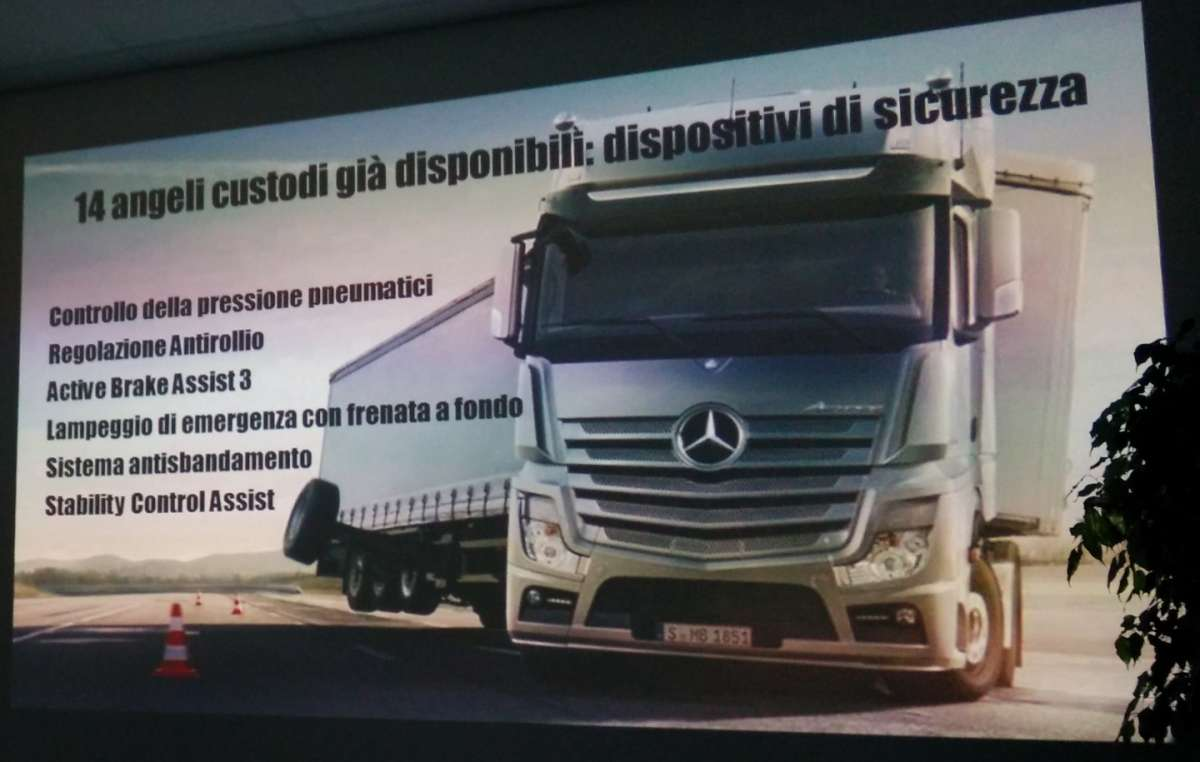 dispositivi elettronici Mercedes Actros