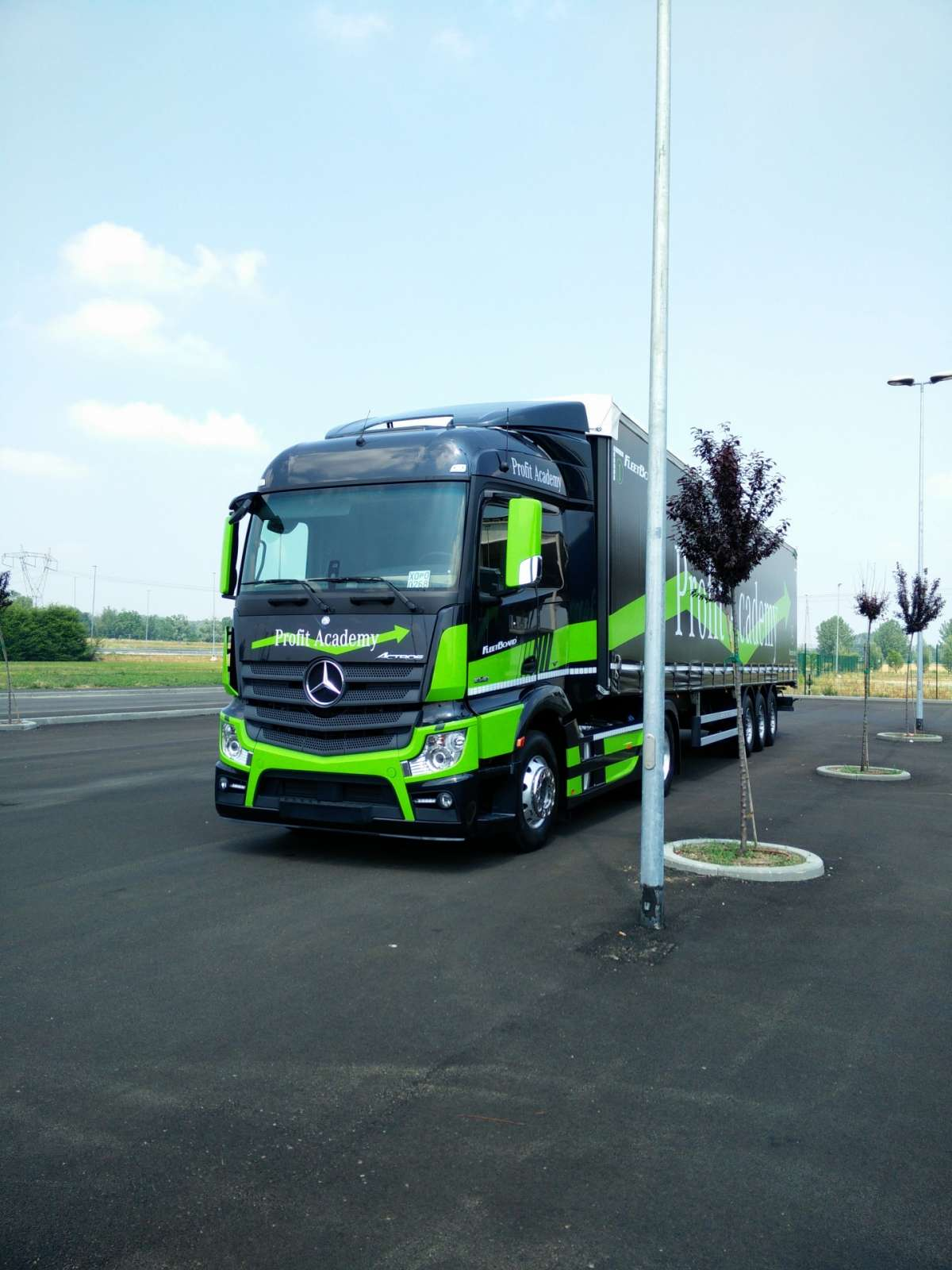 muso Mercedes Actros Profit Academy