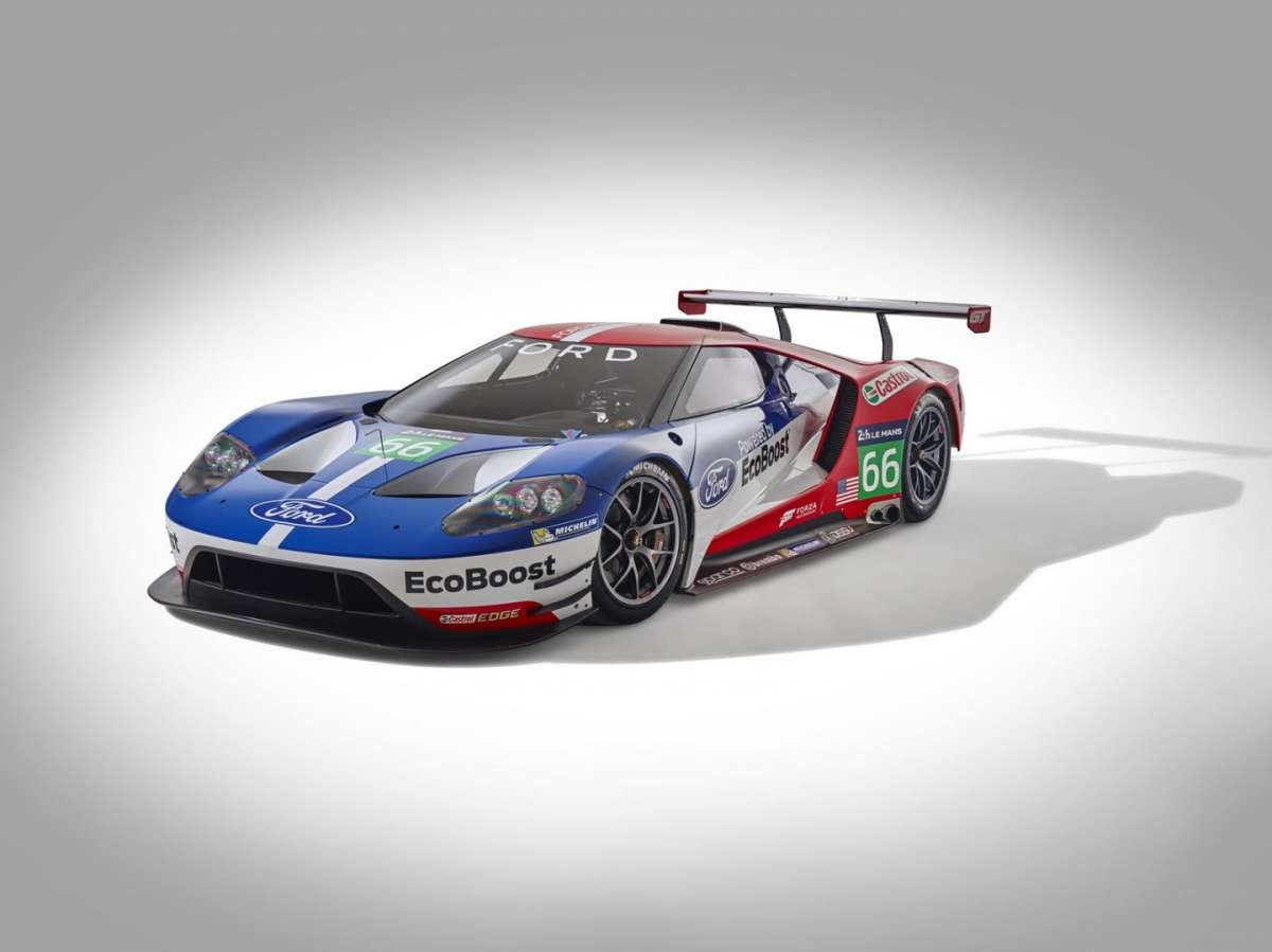 Nuova Ford GT Le Mans