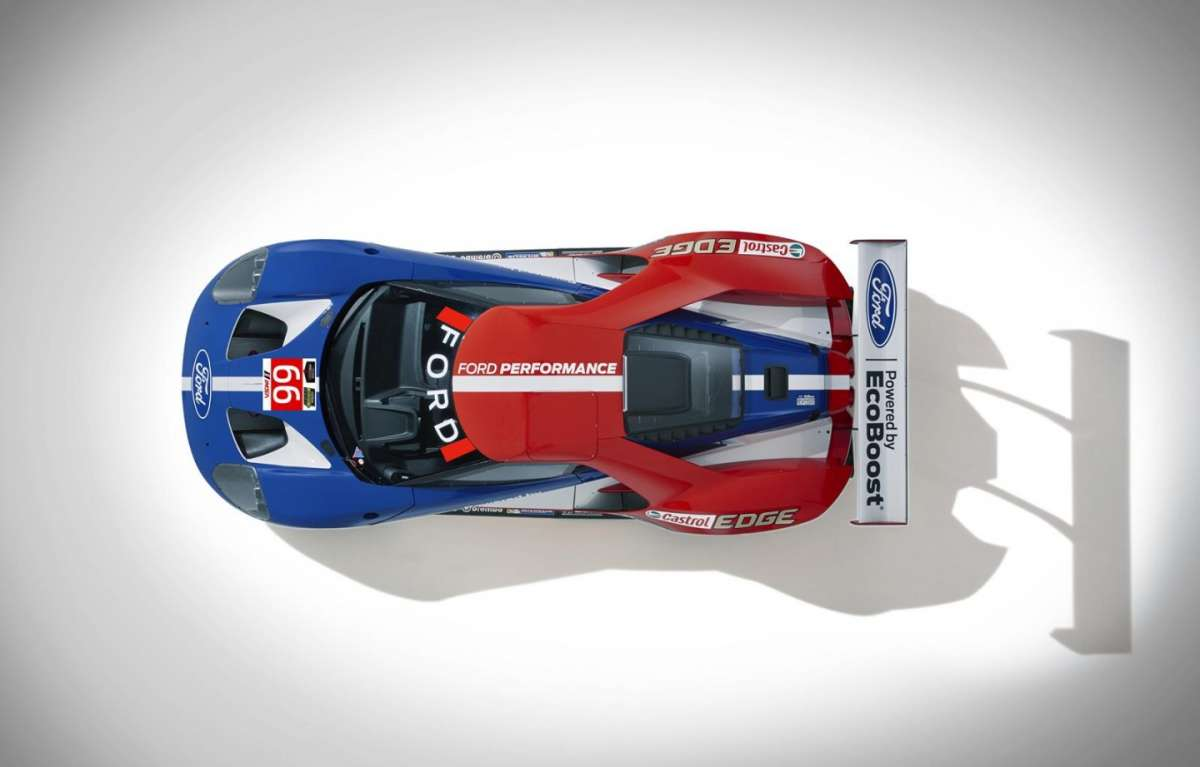 Ford GT Le Mans tetto