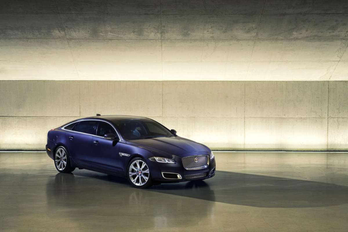 Jaguar XJ restyling