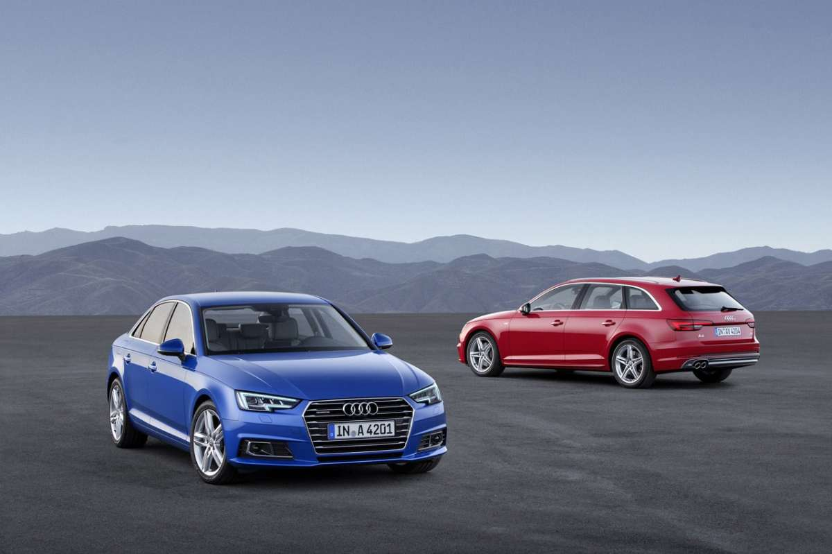 Audi A4 berlina 2018 e Audi A4 station wagon 2018