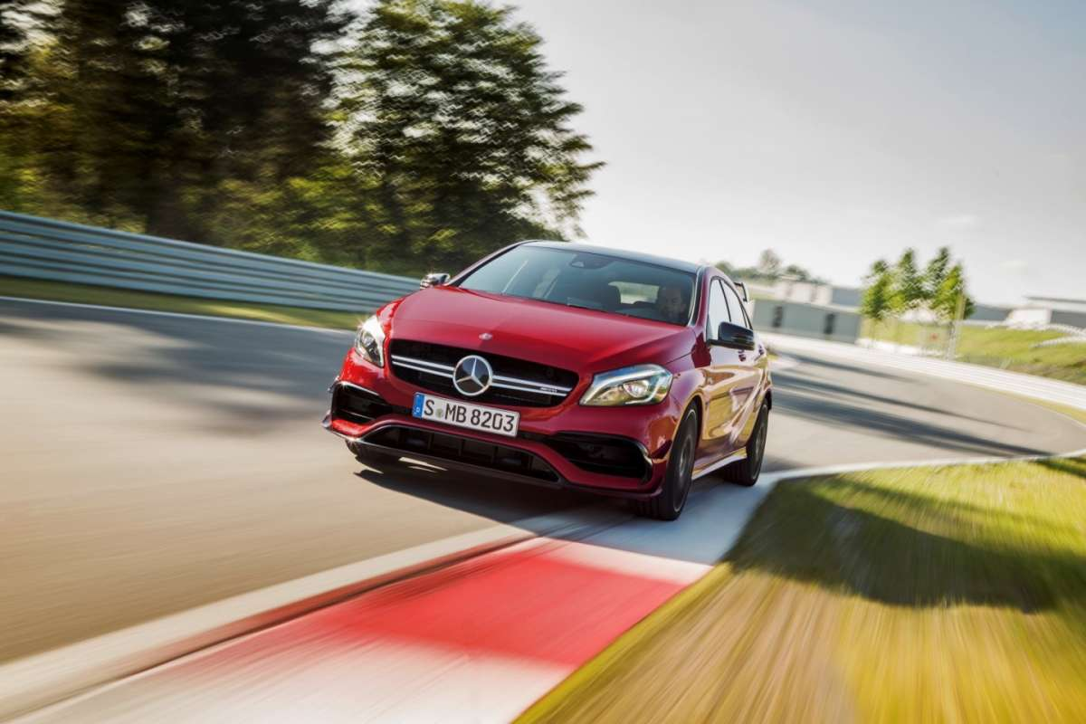 Mercedes Amg A45 restyling