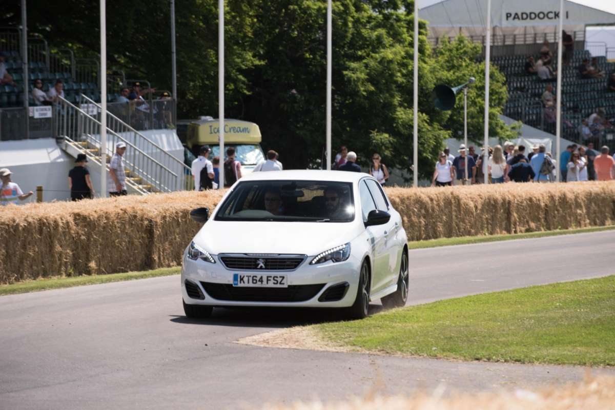 Peugeot 308 a Goodwoow