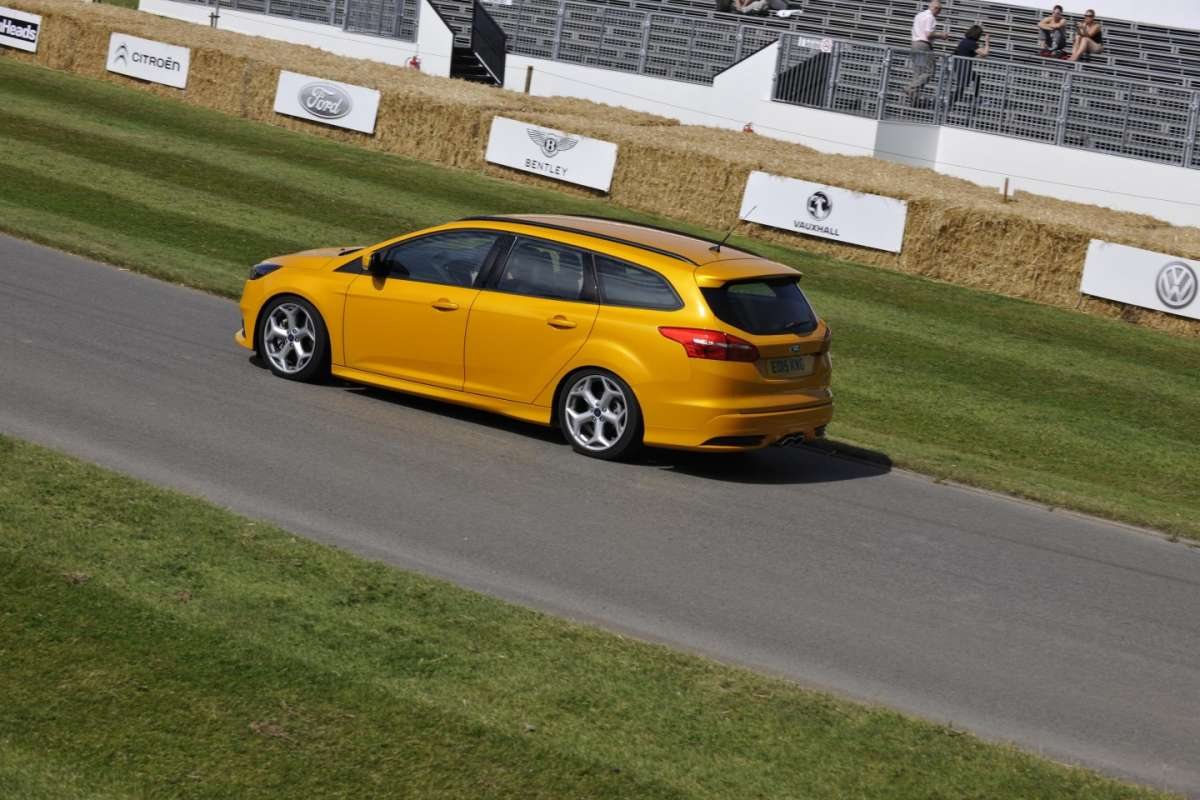 Focus ST station wagon a Goodwood 2015