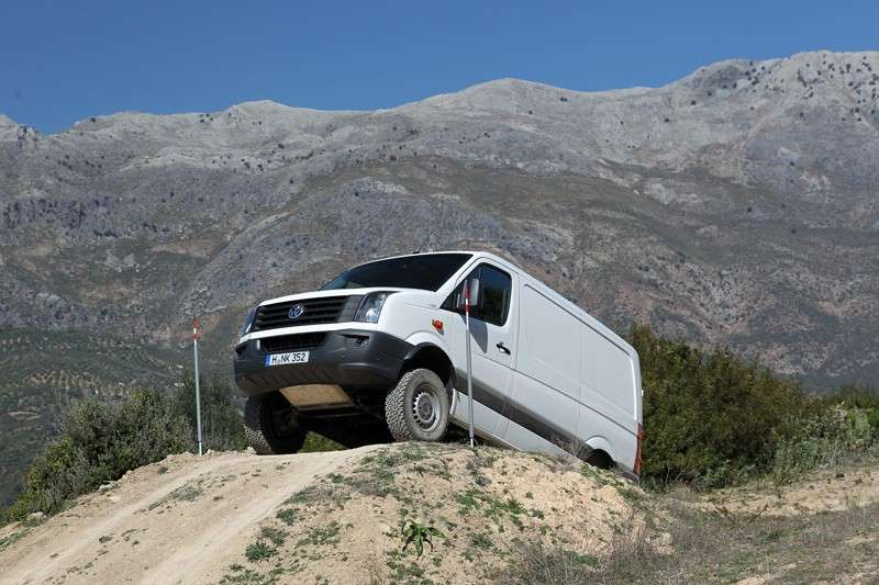 Test drive del Crafter 4Motion