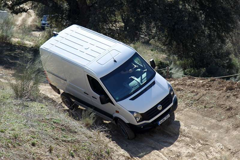 Tetto del Crafter 4Motion