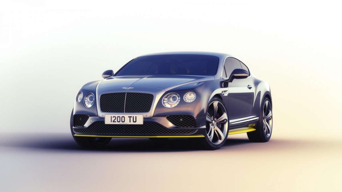 Bentley Continental GT Breitling
